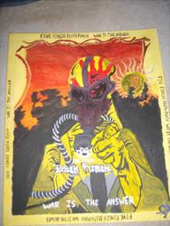 Five Finger Death Punch by shadowfox94
