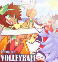 SSF- Prompt #1 (VolleyBall) by HoshPosh