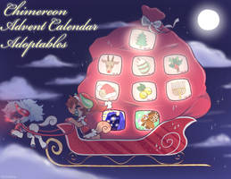 Chimereons: Advent Calendar Adopts! by HoshPosh