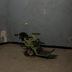 Creepy Medical Chair, Old Geelong Gaol 4 by hidden-punk