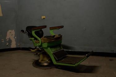 Creepy Medical Chair, Old Geelong Gaol 5 by hidden-punk