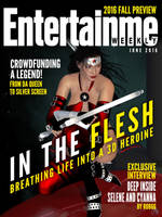 Amazon Arrow Makes The Cover of EntertainMe Weekly by amazonarrow