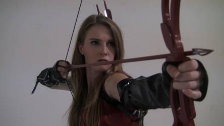 Ashley Lane As Aella the Amazon Arrow by amazonarrow