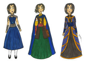 Thalia's Wardrobe by Drayah