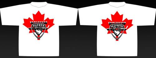 Vancouver Giants TShirt Design by BeBz