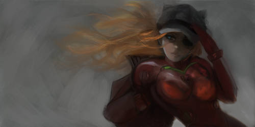 Study: Asuka by Wlop by tlst9999