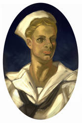 Sailor by Leyendecker by tlst9999