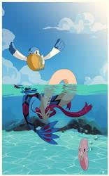 Swim Luvdisc, Swim by SirOpacho