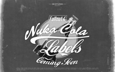 COMING SOON Printable Fallout 4 Nuka-Cola Labels by hi2tai