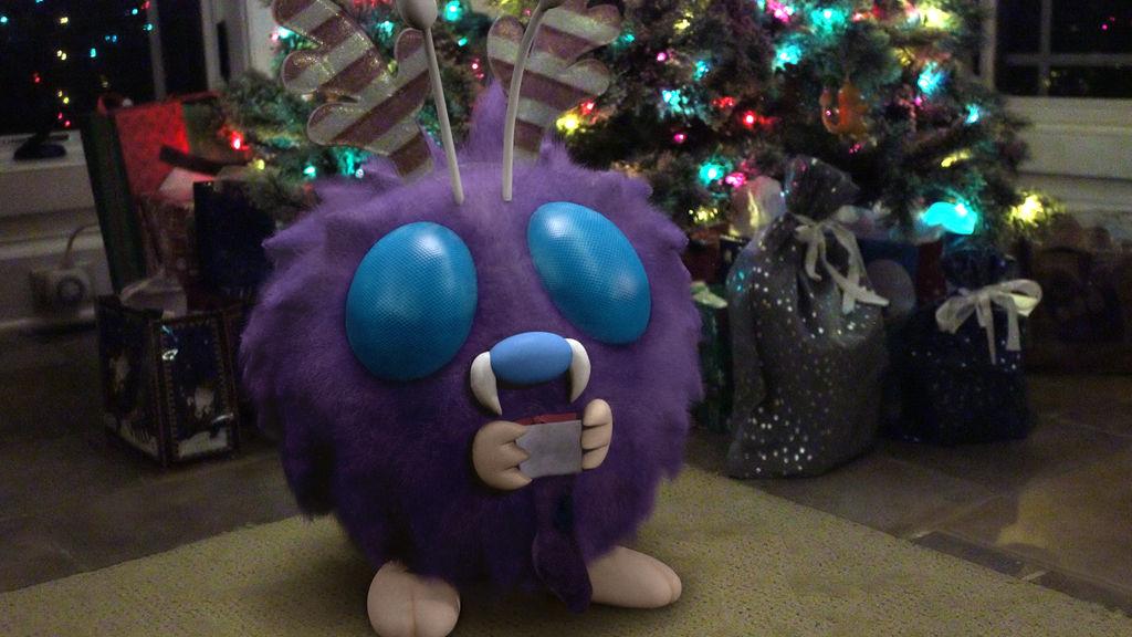 Merry Christmas Polly! by hi2tai