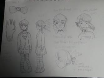 Akki Hoshi Character Sheet W.I.P.- BNHA OC by IcyGabrielle