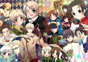 APH doujinshi cover2 by neiyukina