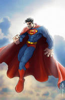 Andy's Superman by pochrzas
