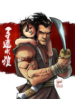 LFY's 'Lone Wolf and Cub' by pochrzas