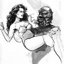 Creature from the Black Lagoon by MarcLaming