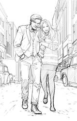Freewheelin Dr Who by MarcLaming