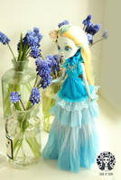 OOAK Custom Monster High Doll Lagoona Blue by Diuha