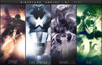 Signature Marvel by titi-arts