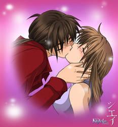 Kiss by nekoshiei