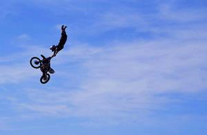 High flying motorcross by LouisStone