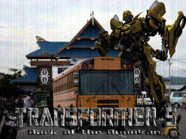 Transformers 5 : Bumblebee In Nunukan City by moejie01