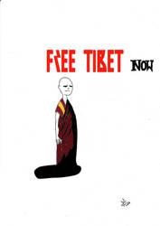 Free Tibet by PumpkinHead1