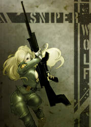 Sniper Wolf by Pechan