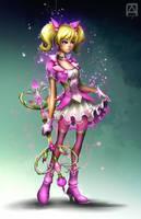 Magical Girl Tessa by Pechan