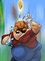 Super mario by svenstoffels