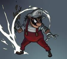 Fire Mario by svenstoffels