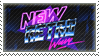 New Retro Wave stamp by The-Kitten-Crisis