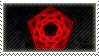 Carpenter Brut stamp by The-Kitten-Crisis