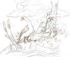 Goose Girl by whistlebird