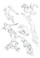 Action Sketchums-boy version by whistlebird
