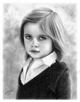 Portrait of Cordelia by imaginee