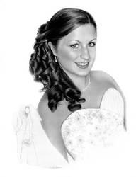 Beautiful Bride To Be by imaginee