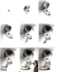 Baby portrait wip images by imaginee