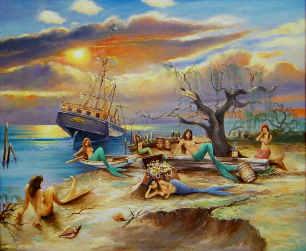 Pirates' Treasure by sirenabonita