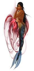Mermaid Sara by sirenabonita
