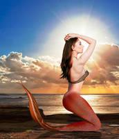 Mermaid Simona II ~ why the sun chooses to rise by sirenabonita