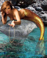 Mermaid Amber ~ the Invitation by sirenabonita