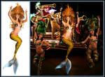 Mermaid Anjou ~ Queen of Carnaval by sirenabonita