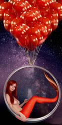 Mermaid Disharmonica ~ Aeronaut by sirenabonita