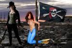 Mermaid Lina ~ Captive! by sirenabonita