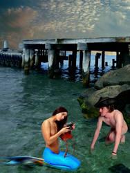 Mermaid Vasilina ~ Beefcake Photoshoot by sirenabonita