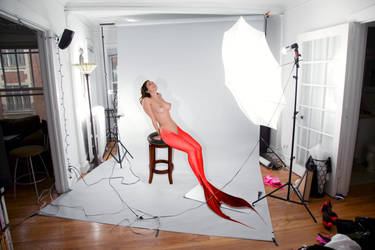 Mermaid Carlotta ~ Pinup shoot @ rekit's Studio #1 by sirenabonita