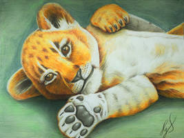 Lionbaby by ZiskaJa