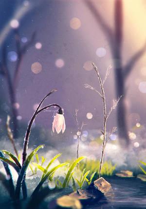 Speedpaint #14 (spring) by Sylar113