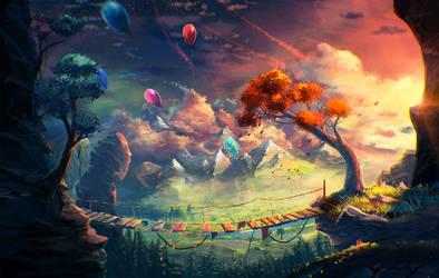 landscape #27 by Sylar113
