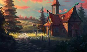landscape #41 by Sylar113